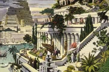 Ziggurat - Hanging Gardens Babylonia