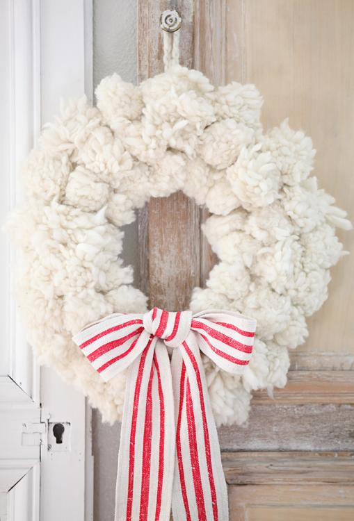 Gift card christmas wreath ideas