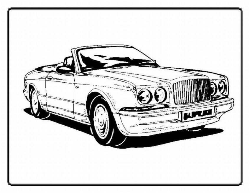 car coloring pages for kids - photo#42