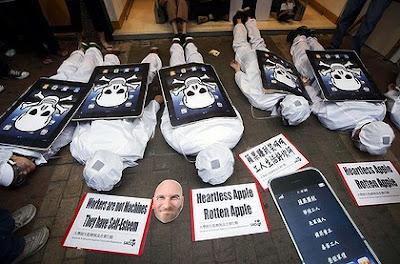 Apple : derrière la com', les suicides dans ECONOMIE Img3