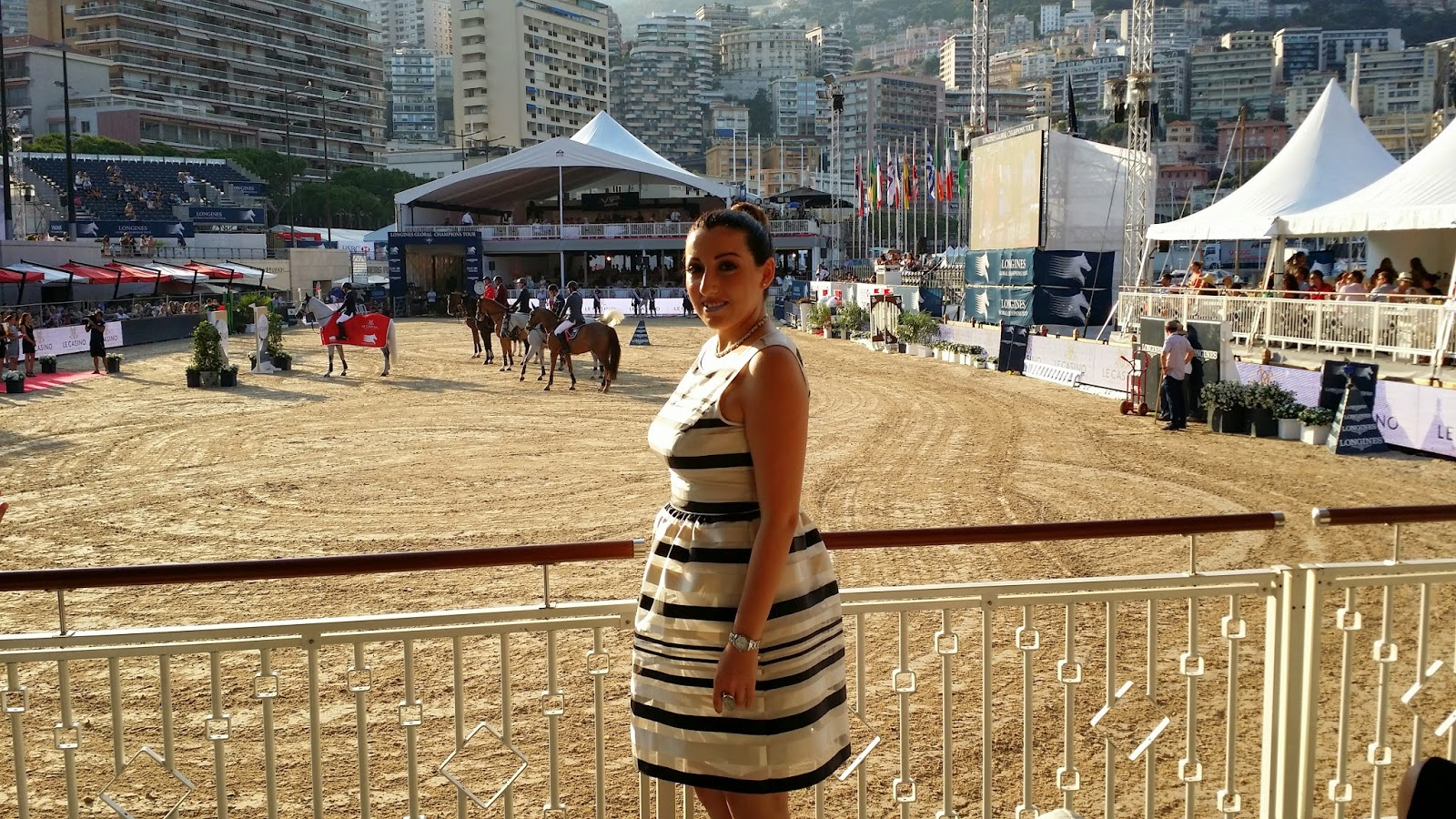 LONGINES Conquest, Global Champions Tour 2014 Montecarlo, pro-am cup, equitazione, show jumping, veronica cristino, veronique tres jolie