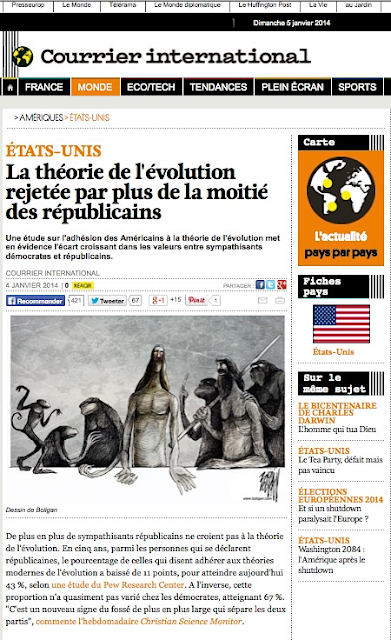 http://www.courrierinternational.com/article/2014/01/04/la-theorie-de-l-evolution-rejetee-par-plus-de-la-moitie-des-republicains