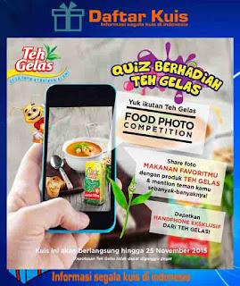 Kontes Foto Makananmu Dengan Produk Teh Gelas Berhadiah Handphone