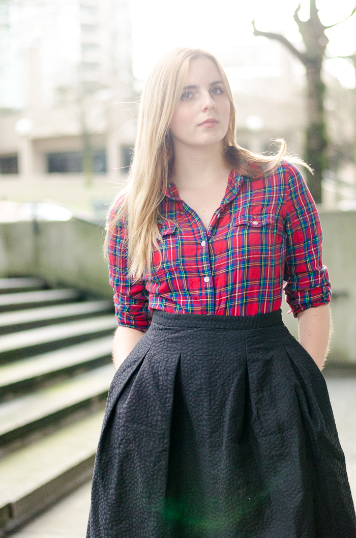 How to Wear a Plaid Button Down