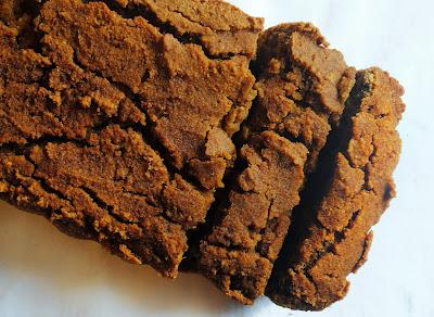 pumpkin spice loaf (vehan, gluten free, oil free, refined sugar free, soy free, nut free)