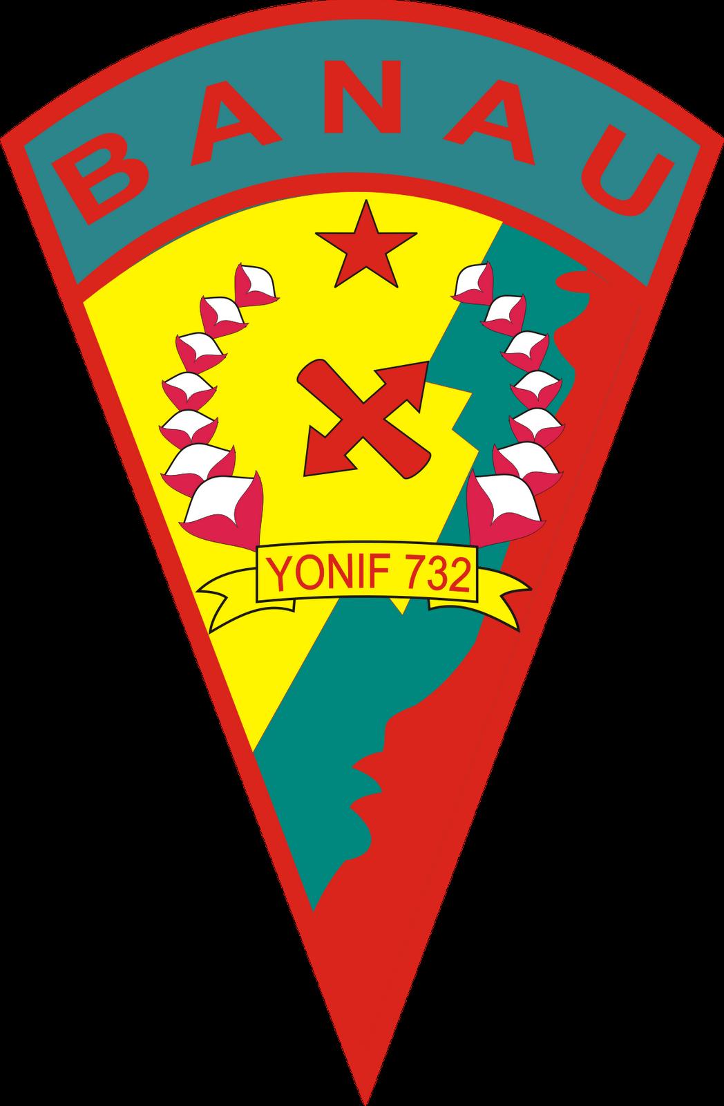 Logo Yonif 732 Banau ~ Kumpulan Logo Lambang Indonesia