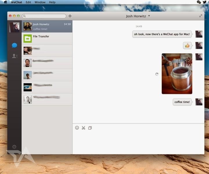 Download Wechat di Mac, unduh WeChat untuk Mac, Wechat untuk sistem operasi mac, aplikasi chatting di mac os