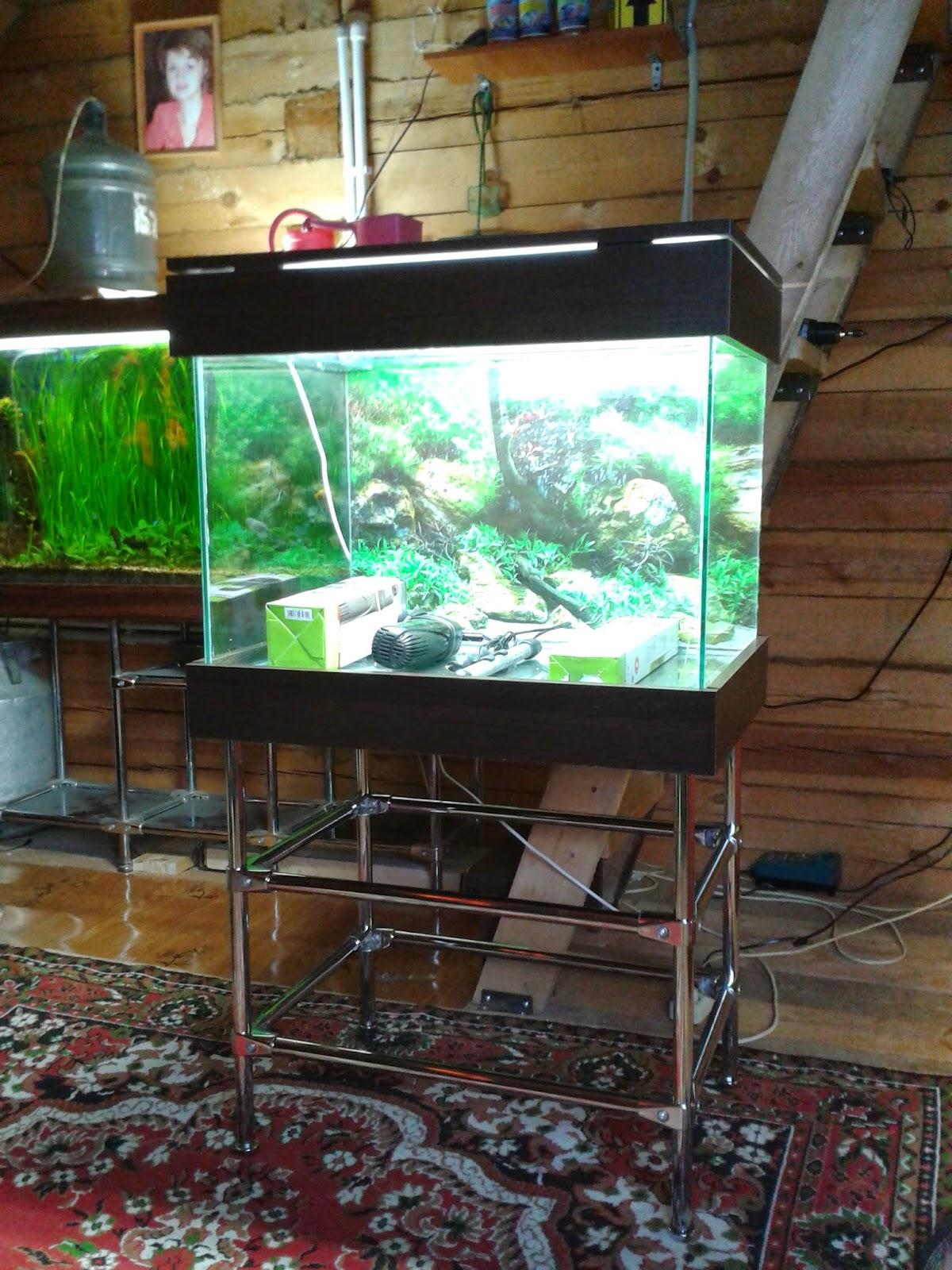 Простейший аквариум своими руками