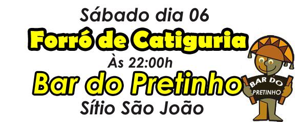 BAR DO PRETINHO - SÍTIO SÃO JOÃO
