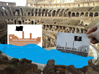 Pierate Ship in the Colosseum