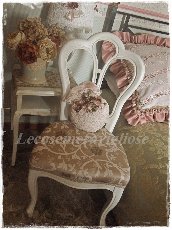 Lecosemeravigliose shabby e country chic passions shabby for Sedie shabby chic usate