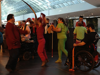 Flashmob at Devonian Gardens