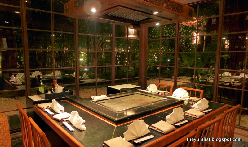 Tenkai Japanese Restaurant, Padma Resort Bali at Legian