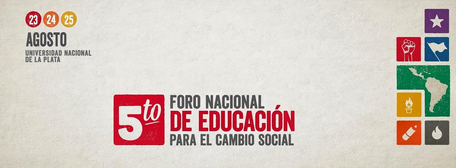 Foro Nacional de Educación para el Cambio Social