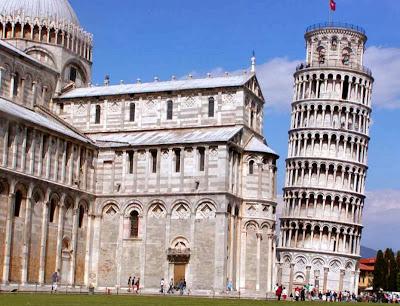 Tempat wisata di Italia | Menara Pisa