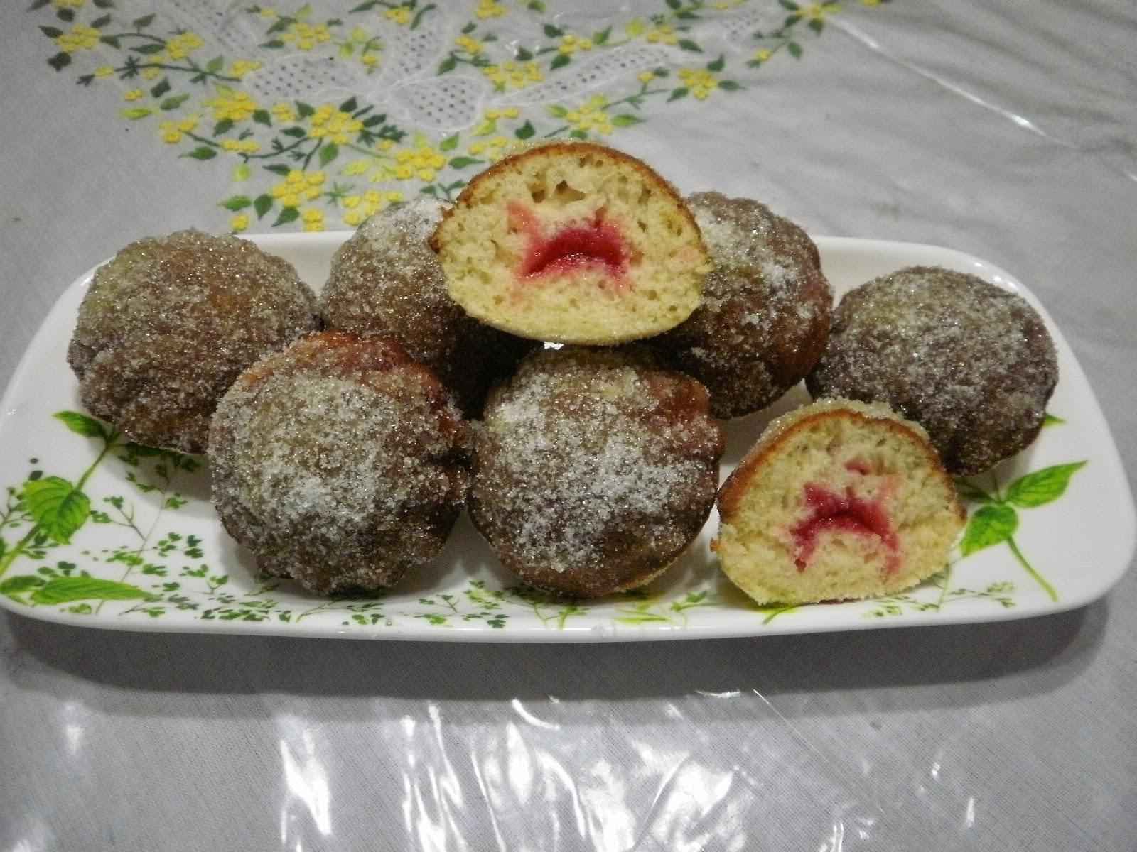 how to make jam doughnuts