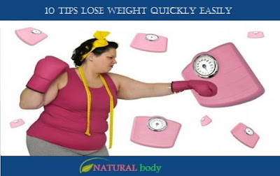 10 tips lose weight quickly easily