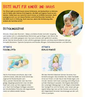 Erste Hilfe für Kinder und Babys - ERGO DIREKT