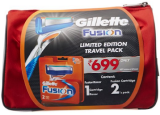 Amazon : Buy Gillette Fusion Manual Blades – 8 Cartridges at Rs. 979- Buytoearn