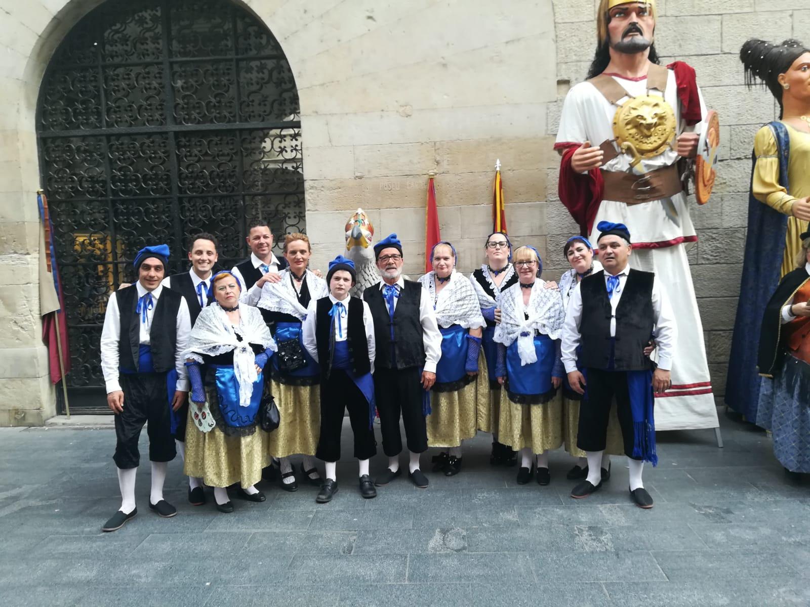 Els portadors de l'Àliga de Lleida