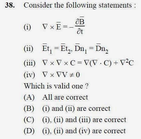 2013 September UGC NET in Electronic Science, Paper III, Question 38