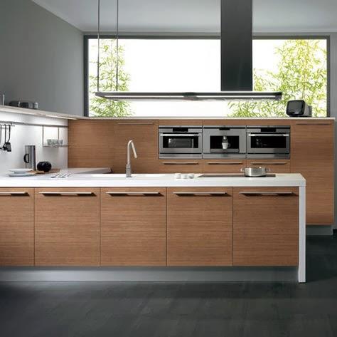 dise o de mueble de cocina de madera