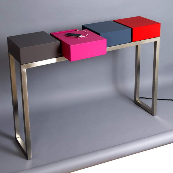 Couleurs et nuances le blog des accros de la d co ma - Table console design ...