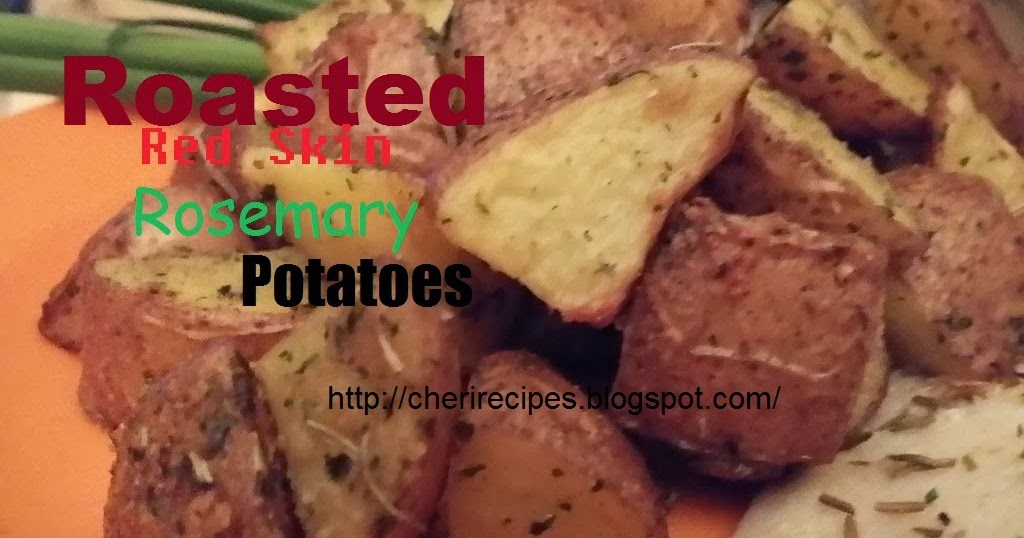 how to make rosemary roasted red potatoes