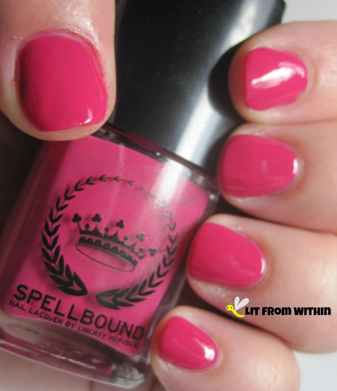 SpellBound LoveSpell, a hot pink creme.