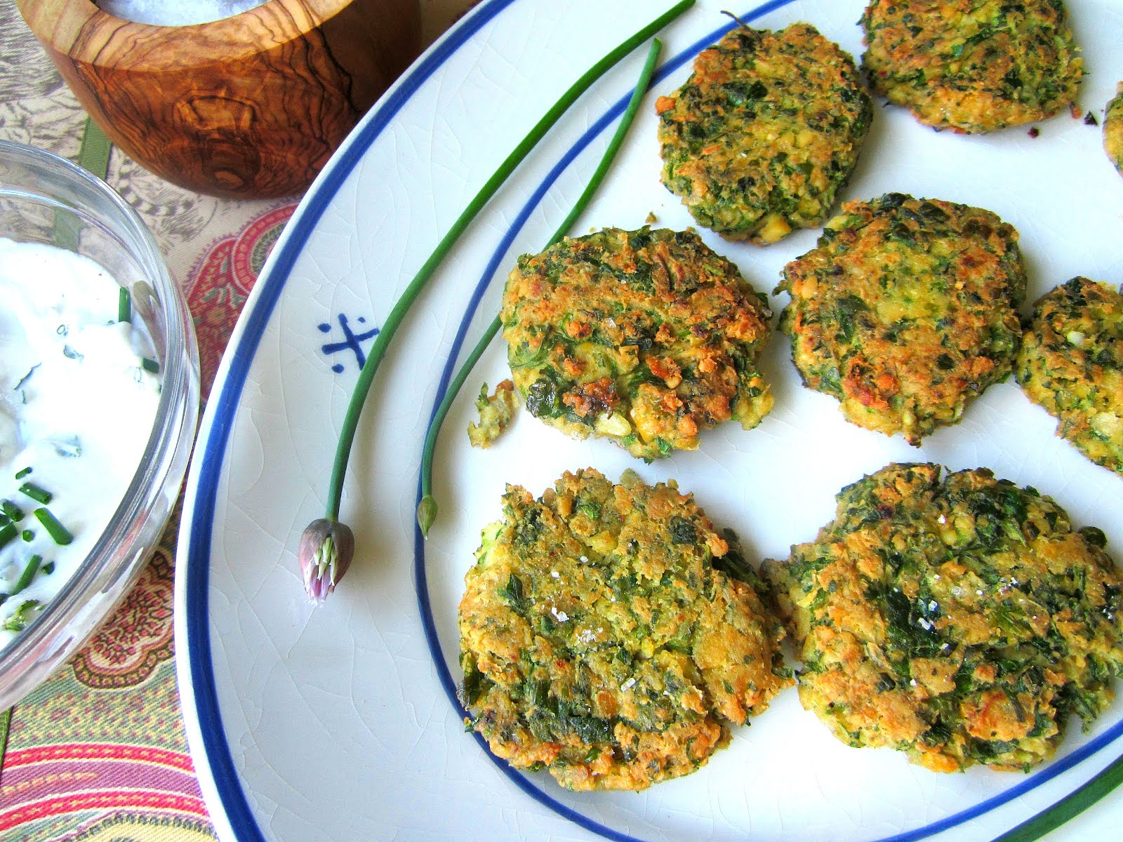 Stacey Snacks: Meatless Monday: Chickpea Fritters