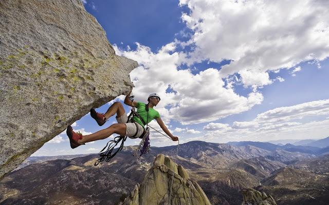 Climber Slide Rock Rope