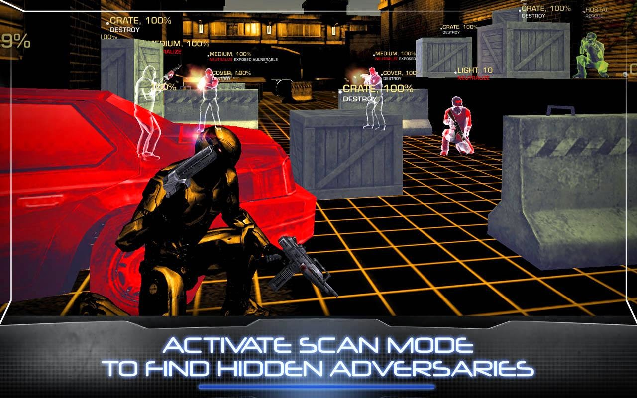 RoboCop 3.0.0 Mod Apk + Obb Data (Unlimited Glu Coins+Money) Android