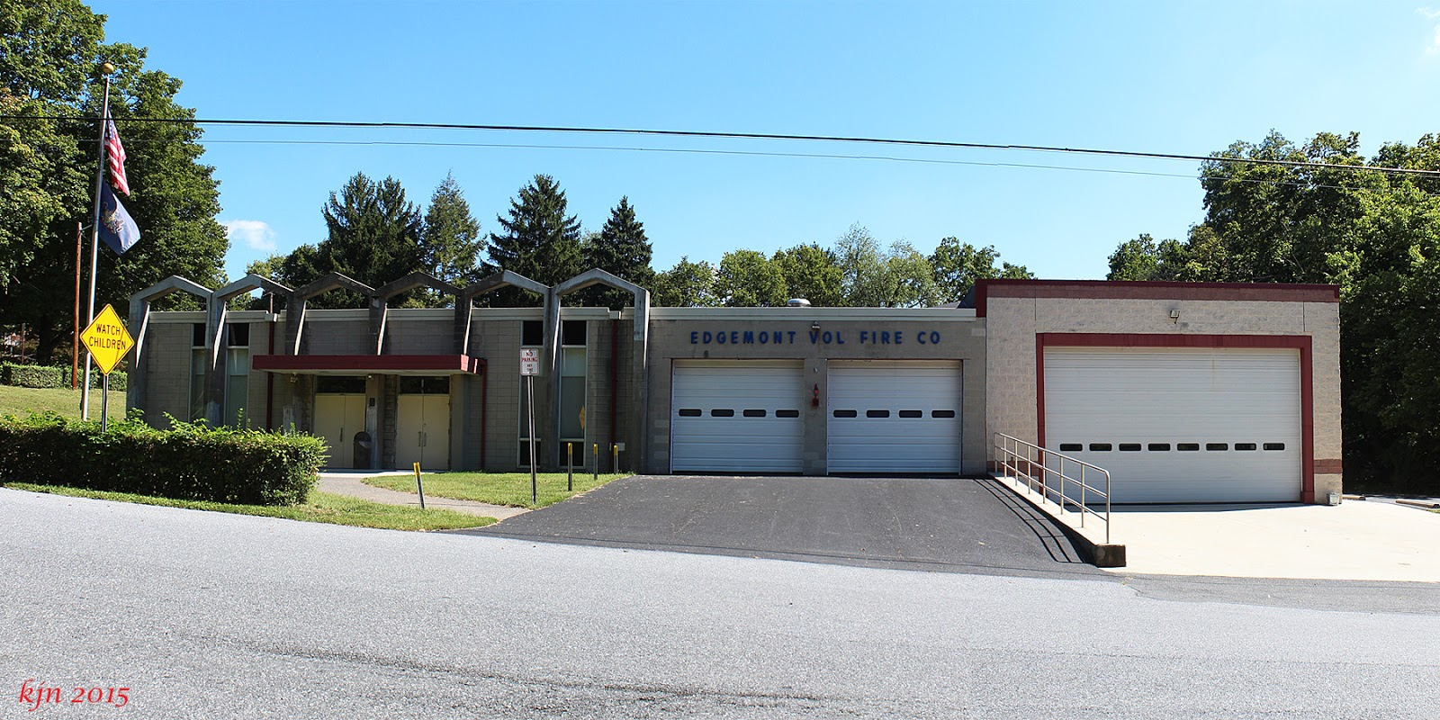 The Outskirts Of Suburbia Edgemont Volunteer Fire Company