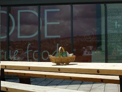 Grazing Kate Devon Cafe Review Cafe Ode Shaldon