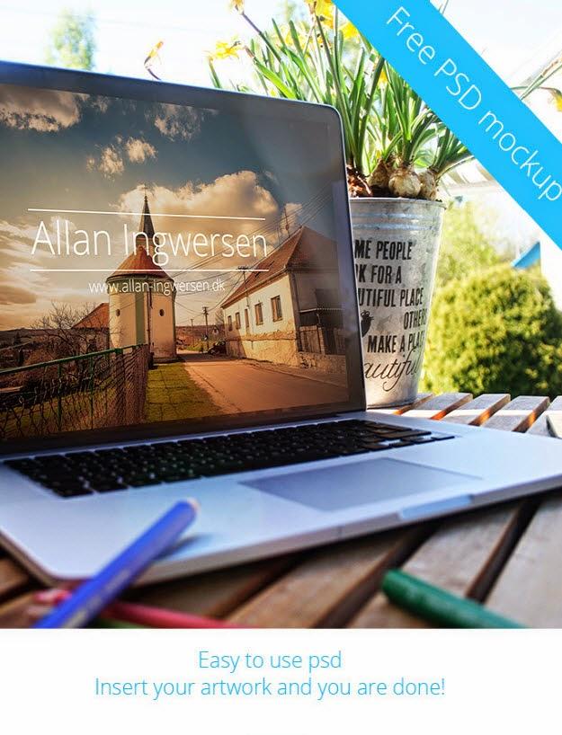 20 Free PSD Mockup Templates