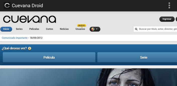 Cuevana+para+Android Cuevana para Android [Apk][Full][Gratis]