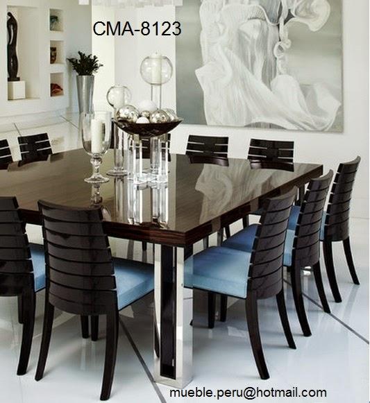 imagenes de muebles de comedor - Fotos de comedores modernos Hogar Total
