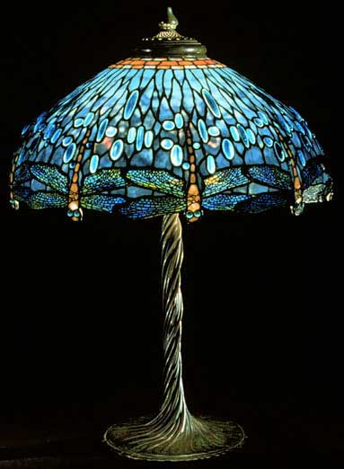 stained glass lamps by tiffany at the biltmore. Black Bedroom Furniture Sets. Home Design Ideas