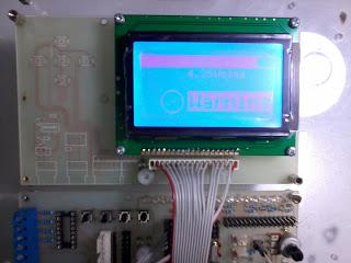 กราฟฟิกแอลซีดี (GLCD 126x64)
