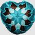 Srdiečko - falošný patchwork