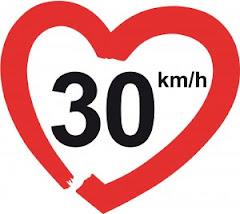 ¡30 km/h – por unas calles habitables!