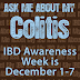 for what it's worth: Inflammatory Bowel Disease Awareness