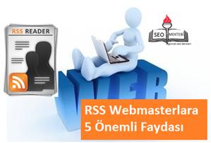 RSS Webmasterlara 5 Önemli Faydası