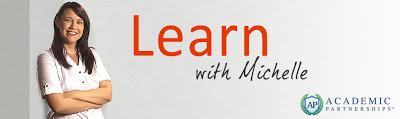 Learn with Michelle Banner