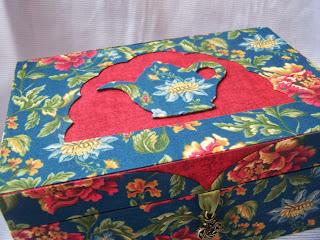 шкатулка для чайных пакетов, картонаж, чайная шкатулка