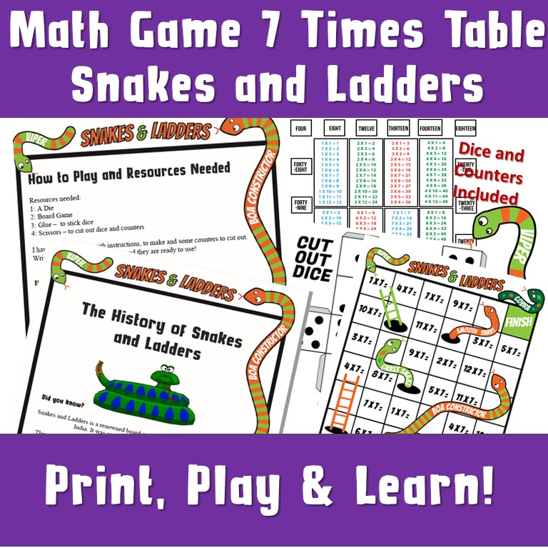 Printable Kids Games
