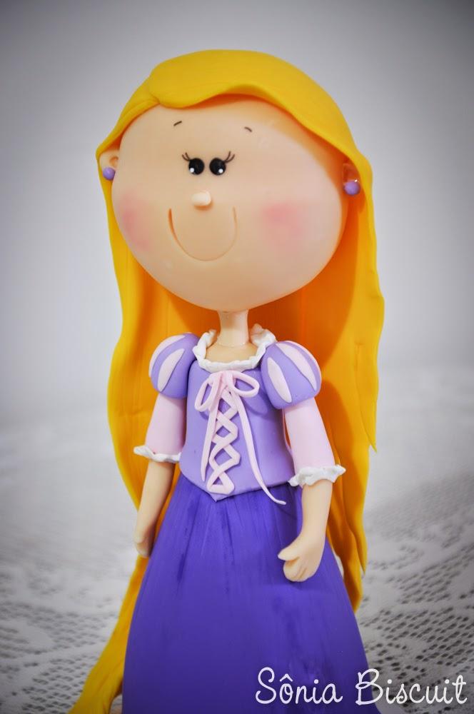 Princesas Biscuit Rapunzel Enrolados