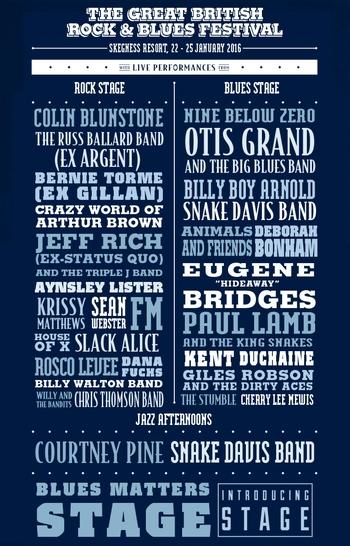 FM at Great British Rock & Blues Festival 23 January 2016