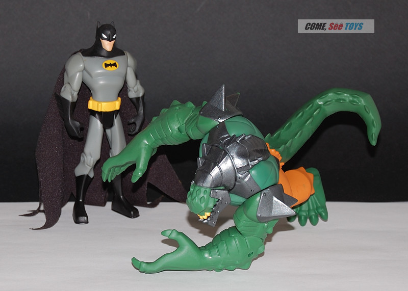 Come, See Toys: Batman Power Attack Swamp Raider Killer Croc