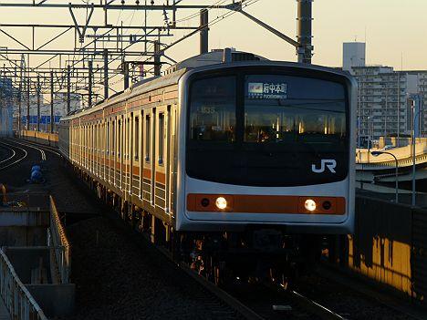 武蔵野線 快速 府中本町行き 205系メルヘン顔(廃止)